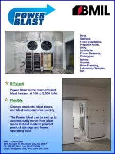 Power Blast Frozen Storage